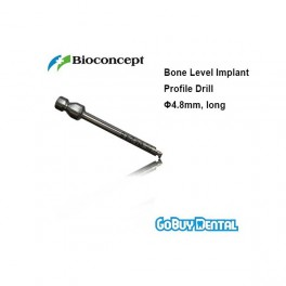 Bone Level Implant Profile Drill Φ4.8mm, long, length 35mm
