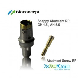 Snappy Abutment RP GH1.5mm AH5.5mm