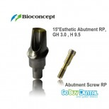 15° Esthetic Abutment RP, GH 3.0mm , H 9.5