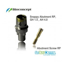 Snappy Abutment RP GH1.5mm AH4.0mm