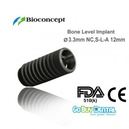 Bone Level Implant, Ø 3.3 mm, L 12 mm (NC)