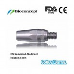 Titanium Alloy RN Cemented Abutment, height 5.5mm