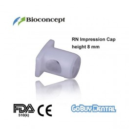 RN Impression Cap, height 8.0mm