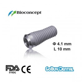 Tapered Effect Implants Ф 4.1 mm- L 10mm (Regular Neck Ф 4.8 mm)