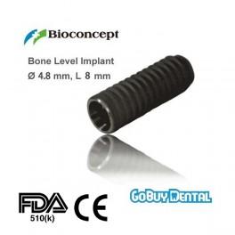Bone Level Implant, Ø 4.8 mm, L 8 mm (RC)