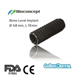 Bone Level Implant, Ø 4.8 mm, L 10 mm (RC)