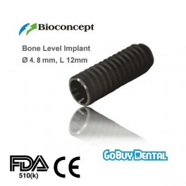Bone Level Implant, Ø 4.8 mm, L 12 mm (RC)