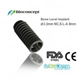 Bone Level Implant, Ø 3.3 mm, L 8 mm (NC)