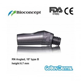 RN Angled Abutment, 15° type B, height 6.7mm, Long