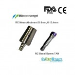 RC Meso Abutment Φ 8mm, Height 13.4mm