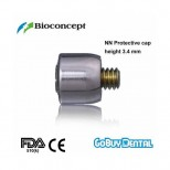 NN Protective cap with integral occlusal screw , φ4.0mm, height 3.4mm