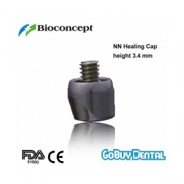NN Healing cap with integral occlusal screw , φ4.0mm, height 3.4mm