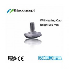 WN Healing cap, labial bevel, height 2.0mm
