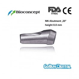 NN Abutment Coping, 20°angled, height 8.8mm
