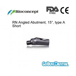 RN Angled Abutment, 15° type A, height 5.7mm, Short