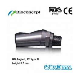 RN Angled Abutment, 15° type B, height 5.7mm, Short
