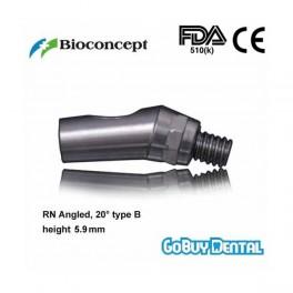 RN Angled Abutment, 20° type B, height 5.9mm, Short