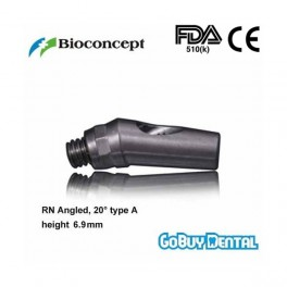 RN Angled Abutment, 20° type A, height 6.9mm, Long
