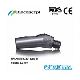 RN Angled Abutment, 20° type B, height 6.9mm, Long