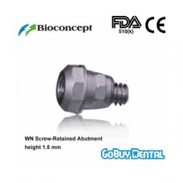 WN 1.5 Screw-Retained Abutment , height 1.5mm