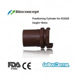 Positioning Cylinder for 033020, brown, height 10mm