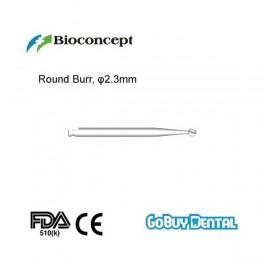 Round Burr, φ2.3mm for dental implant