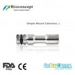 Bioconcept BV System dental instrument Extension Length 20.5mm, long