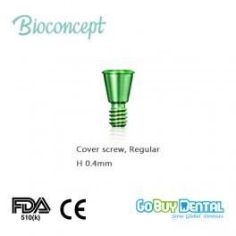 Bioconcept Hex Taperd Bone Level Regular Cover Screw, Height 0.4mm(322010)