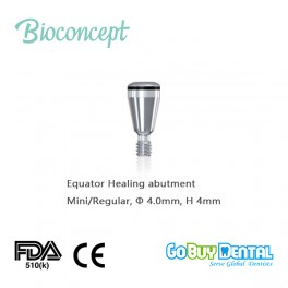 OT EQUATOR Healing Cap for Osstem TSIII & Hiossen ETIII Mini/Regular Implant, φ4.0mm, GH 4mm