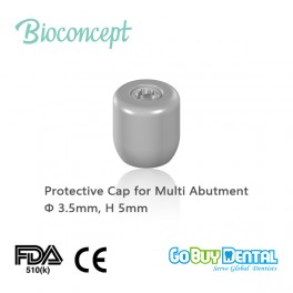Protective cap for screw-retained abutment, Φ3.5mm, H5mm(123010)