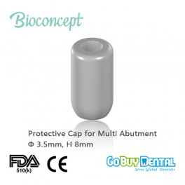 Protective cap for screw-retained abutment, Φ3.5mm, H8mm(123030)