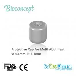 Protective cap for screw-retained abutment, Φ4.6mm, H5.1mm(123040)
