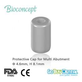 Protective cap for screw-retained abutment, Φ4.6mm, H8.1mm(123060)